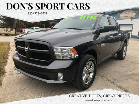 2018 RAM Ram Pickup 1500 for sale at Don's Sport Cars in Hortonville WI