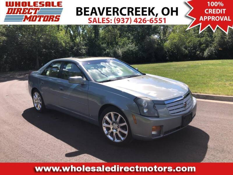 2007 Cadillac CTS for sale at WHOLESALE DIRECT MOTORS in Beavercreek OH