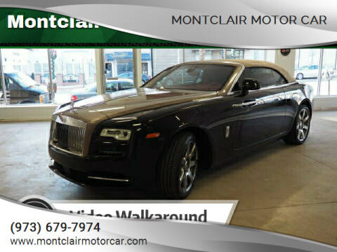 2017 Rolls-Royce Dawn for sale at Montclair Motor Car in Montclair NJ