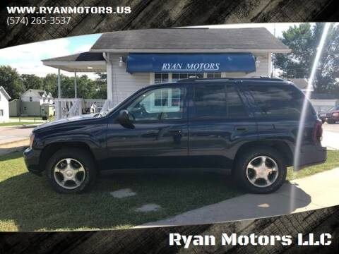 2008 Chevrolet TrailBlazer for sale at Ryan Motors LLC in Warsaw IN