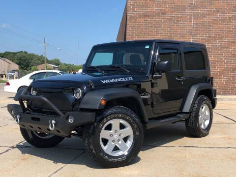 2012 Jeep Wrangler for sale at Effect Auto Center in Omaha NE
