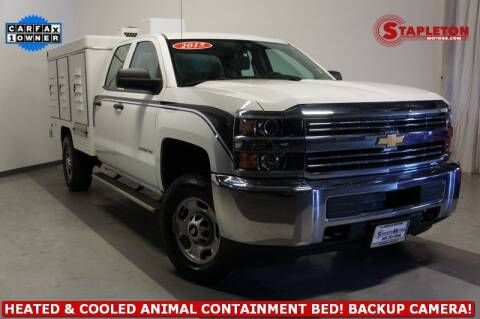 2015 Chevrolet Silverado 2500HD for sale at STAPLETON MOTORS in Commerce City CO