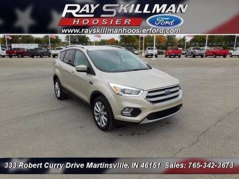 2017 Ford Escape for sale at Ray Skillman Hoosier Ford in Martinsville IN