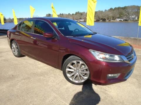 2013 Honda Accord for sale at Lake Carroll Auto Sales in Carrollton GA
