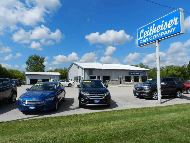 2014 Ford Fusion for sale at Leitheiser Car Company in West Bend WI