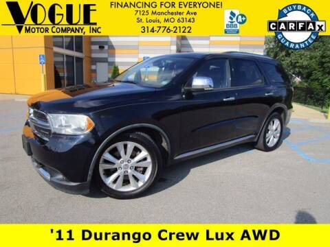 2011 Dodge Durango for sale at Vogue Motor Company Inc in Saint Louis MO