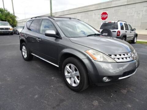 2007 Nissan Murano for sale at DONNY MILLS AUTO SALES in Largo FL