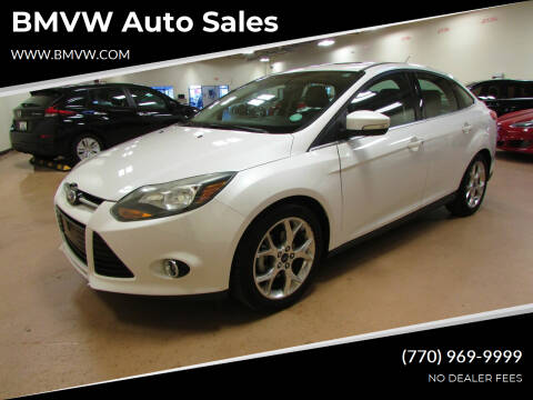 2013 Ford Focus for sale at BMVW Auto Sales in Union City GA
