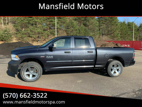 2013 RAM Ram Pickup 1500 for sale at Mansfield Motors in Mansfield PA