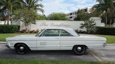 1966 Plymouth Sport Fury for sale at Premier Luxury Cars in Oakland Park FL