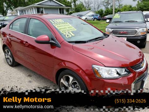2017 Chevrolet Sonic for sale at Kelly Motors in Johnston IA