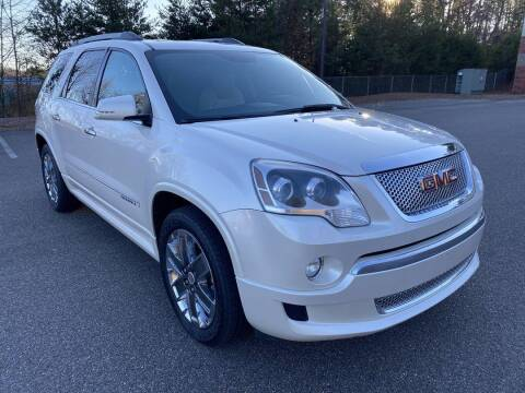 2011 GMC Acadia for sale at CU Carfinders in Norcross GA