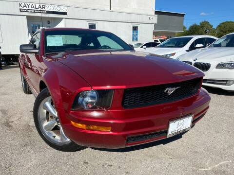 2005 Ford Mustang for sale at KAYALAR MOTORS in Houston TX