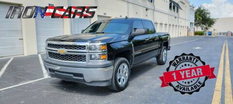 2015 Chevrolet Silverado 1500 for sale at IRON CARS in Hollywood FL