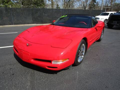2002 Chevrolet Corvette for sale at LULAY'S CAR CONNECTION in Salem OR