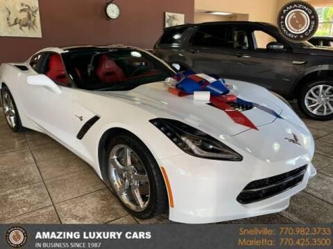 2015 Chevrolet Corvette for sale at Amazing Luxury Cars in Snellville GA