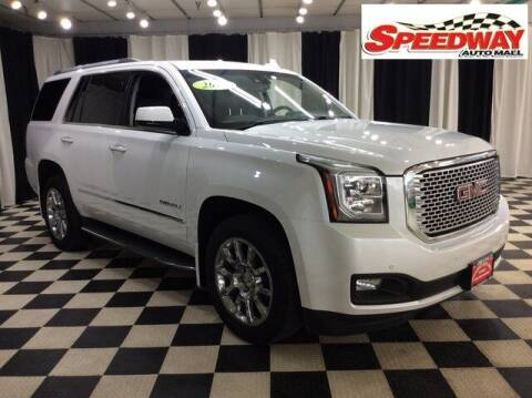 2016 GMC Yukon for sale at SPEEDWAY AUTO MALL INC in Machesney Park IL