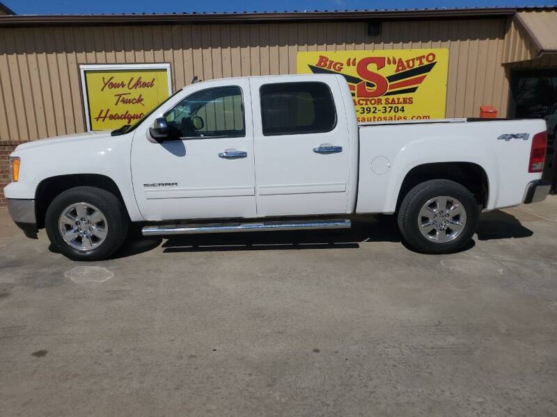 2013 GMC Sierra 1500 for sale at BIG 'S' AUTO & TRACTOR SALES in Blanchard OK