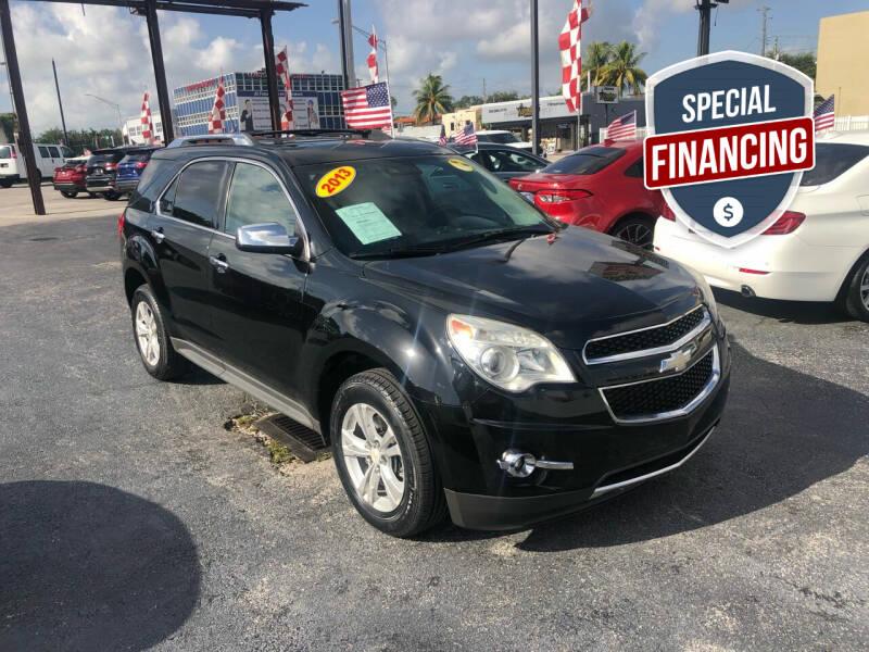 2013 Chevrolet Equinox for sale at MACHADO AUTO SALES in Miami FL