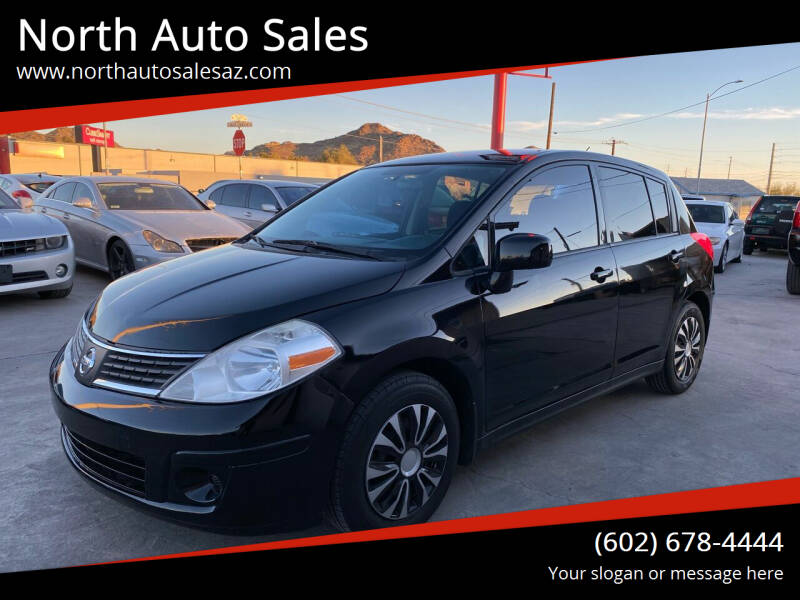 2012 Nissan Versa for sale at North Auto Sales in Phoenix AZ