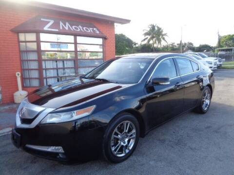 2011 Acura TL for sale at Z MOTORS INC in Hollywood FL