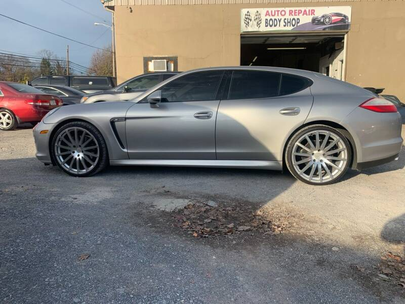 2012 Porsche Panamera for sale at GET N GO USED AUTO & REPAIR LLC in Martinsburg WV