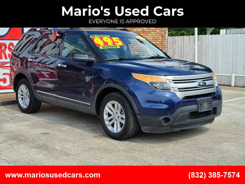 2012 Ford Explorer for sale at Mario's Used Cars - South Houston Location in South Houston TX