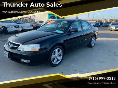 2003 Acura TL for sale at Thunder Auto Sales in Sacramento CA