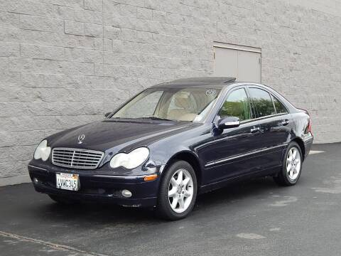 2002 Mercedes-Benz C-Class for sale at Gilroy Motorsports in Gilroy CA