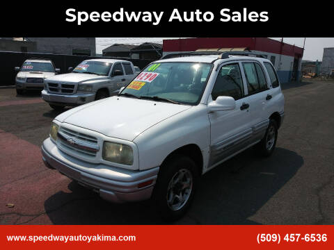 2001 Chevrolet Tracker for sale at Speedway Auto Sales in Yakima WA