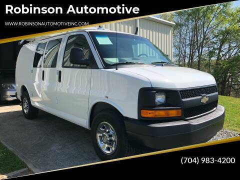 2012 Chevrolet Express Cargo for sale at Robinson Automotive in Albermarle NC