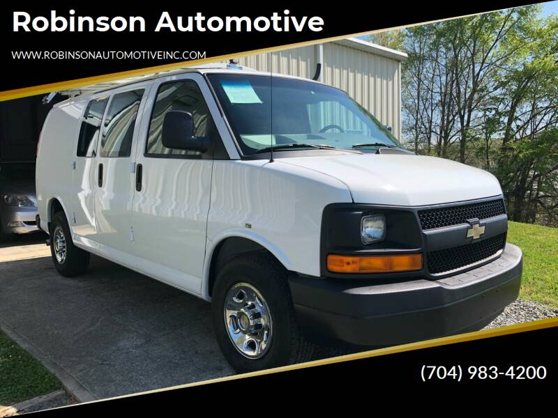2012 Chevrolet Express Cargo for sale at Robinson Automotive in Albemarle NC