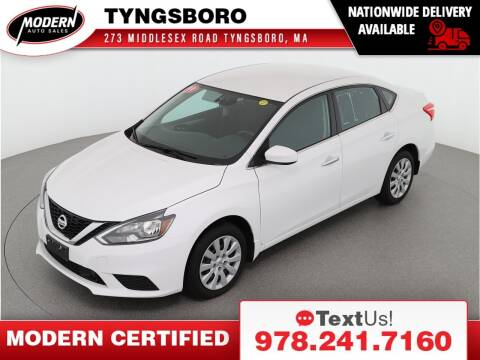 2019 Nissan Sentra for sale at Modern Auto Sales in Tyngsboro MA