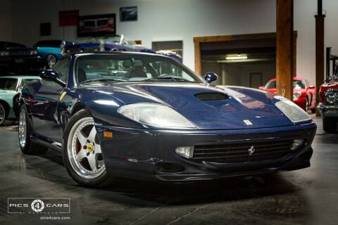 1999 Ferrari 550 for sale at Veloce Motors in San Diego CA