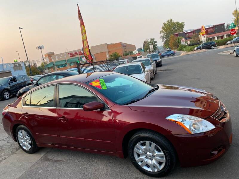 2010 Nissan Altima for sale at Sanaa Auto Sales LLC in Denver CO