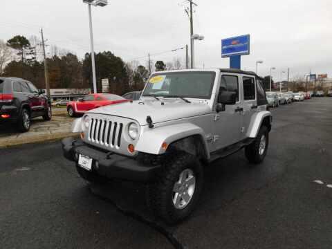 2007 Jeep Wrangler Unlimited for sale at Paniagua Auto Mall in Dalton GA