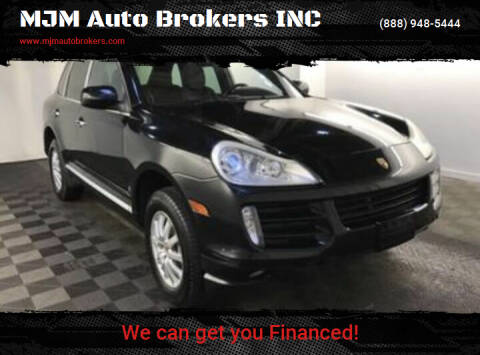2009 Porsche Cayenne for sale at MJM Auto Brokers INC in Gloucester MA