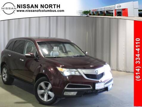 2012 Acura MDX for sale at Auto Center of Columbus in Columbus OH