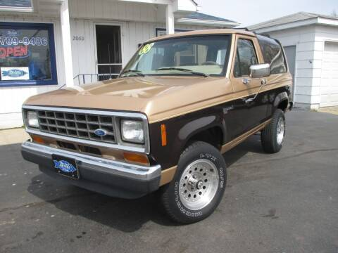 1988 Ford Bronco II for sale at Blue Arrow Motors in Coal City IL