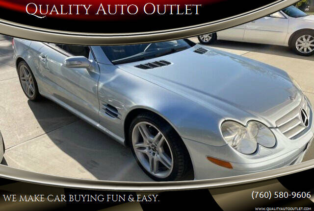 2007 Mercedes-Benz SL-Class for sale at Quality Auto Outlet in Vista CA