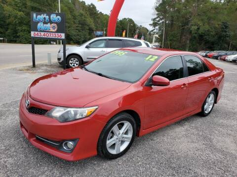 2012 Toyota Camry for sale at Let's Go Auto in Florence SC