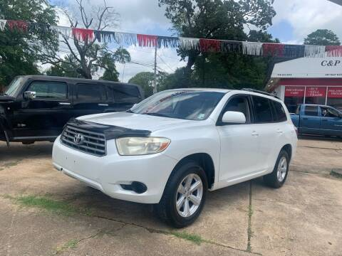 2008 Toyota Highlander for sale at C & P Autos, Inc. in Ruston LA