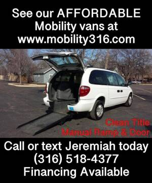 2004 Dodge Grand Caravan for sale at Affordable Mobility Solutions, LLC - Mobility/Wheelchair Accessible Inventory-Wichita in Wichita KS