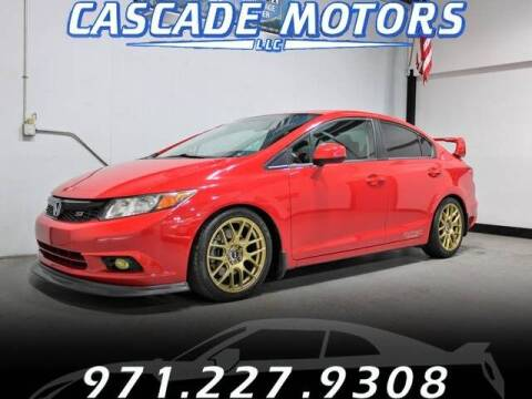 2012 Honda Civic for sale at Cascade Motors in Portland OR