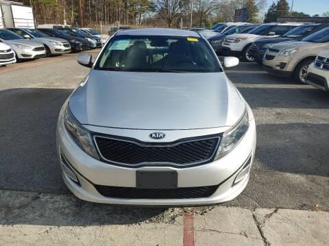 2014 Kia Optima for sale at Adonai Auto Broker in Marietta GA