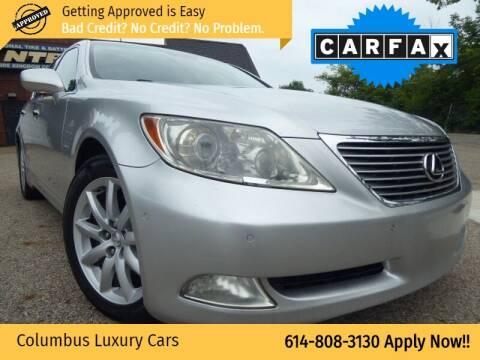 2007 Lexus LS 460 for sale at Columbus Luxury Cars in Columbus OH