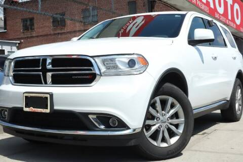 2017 Dodge Durango for sale at HILLSIDE AUTO MALL INC in Jamaica NY