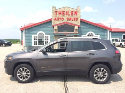 2019 Jeep Cherokee for sale at THEILEN AUTO SALES in Clear Lake IA