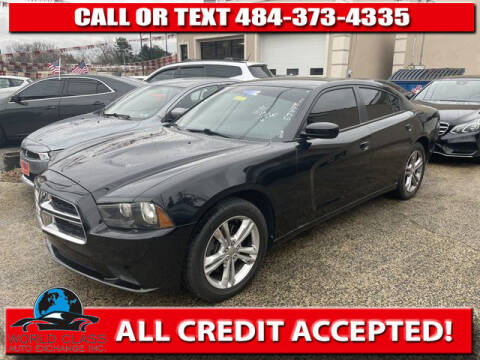 2014 Dodge Charger for sale at World Class Auto Exchange in Lansdowne PA