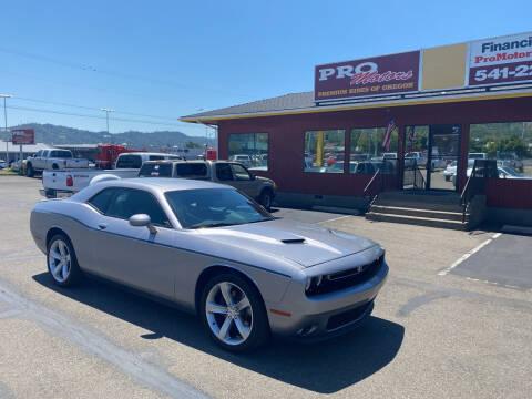 2016 Dodge Challenger for sale at Pro Motors in Roseburg OR